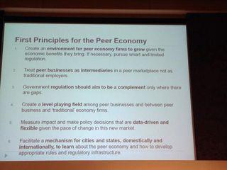 Peer Economy Principles
